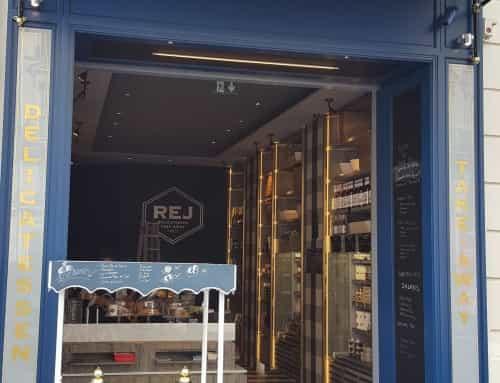 Façade de la boutique REJ du Nolinski Paris