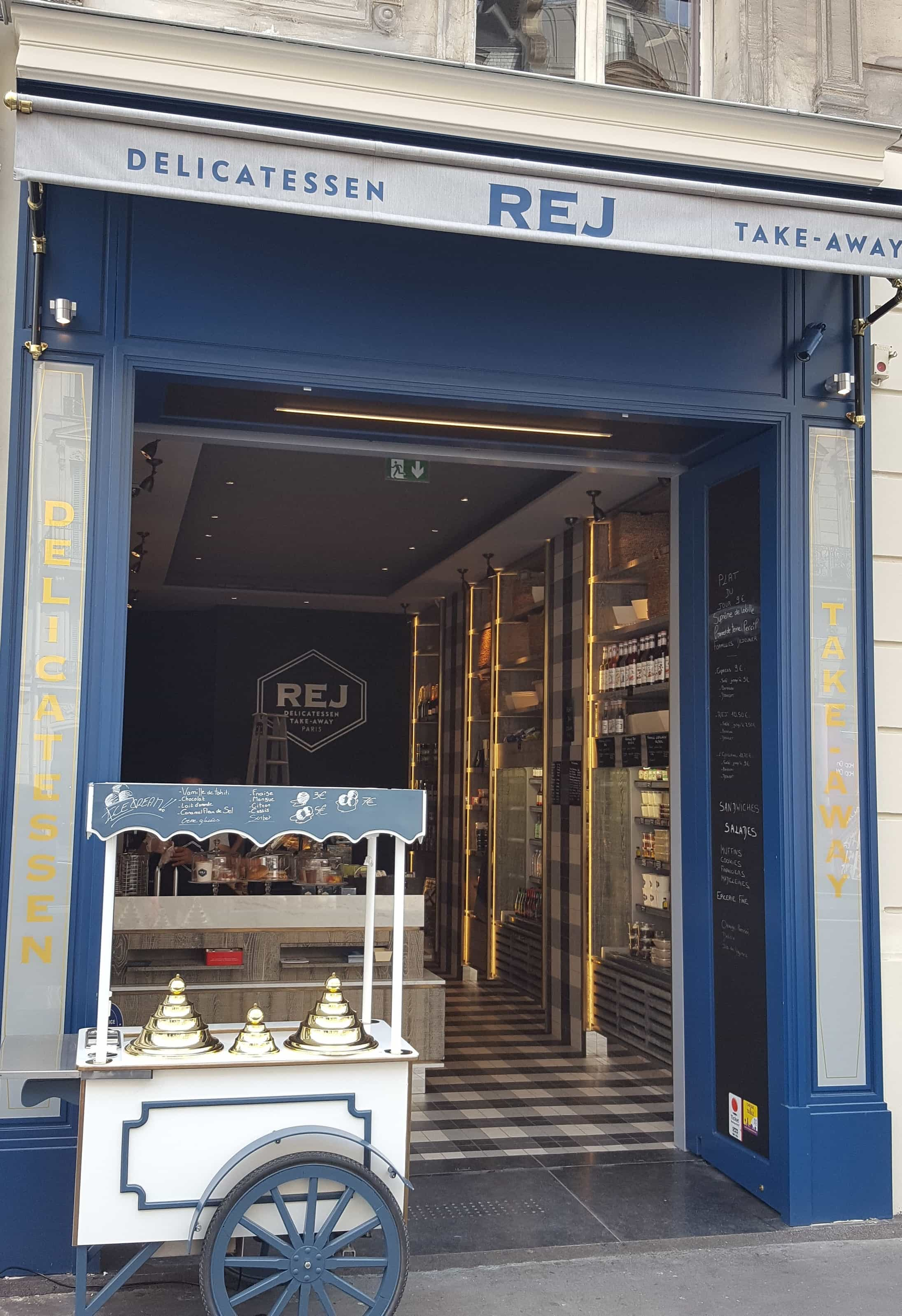 Facade boutique REJ