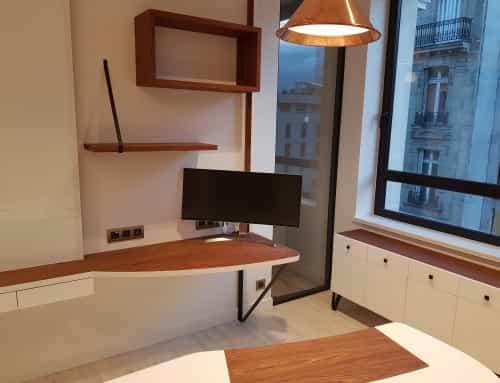 Un plateau de bureau design & tendance