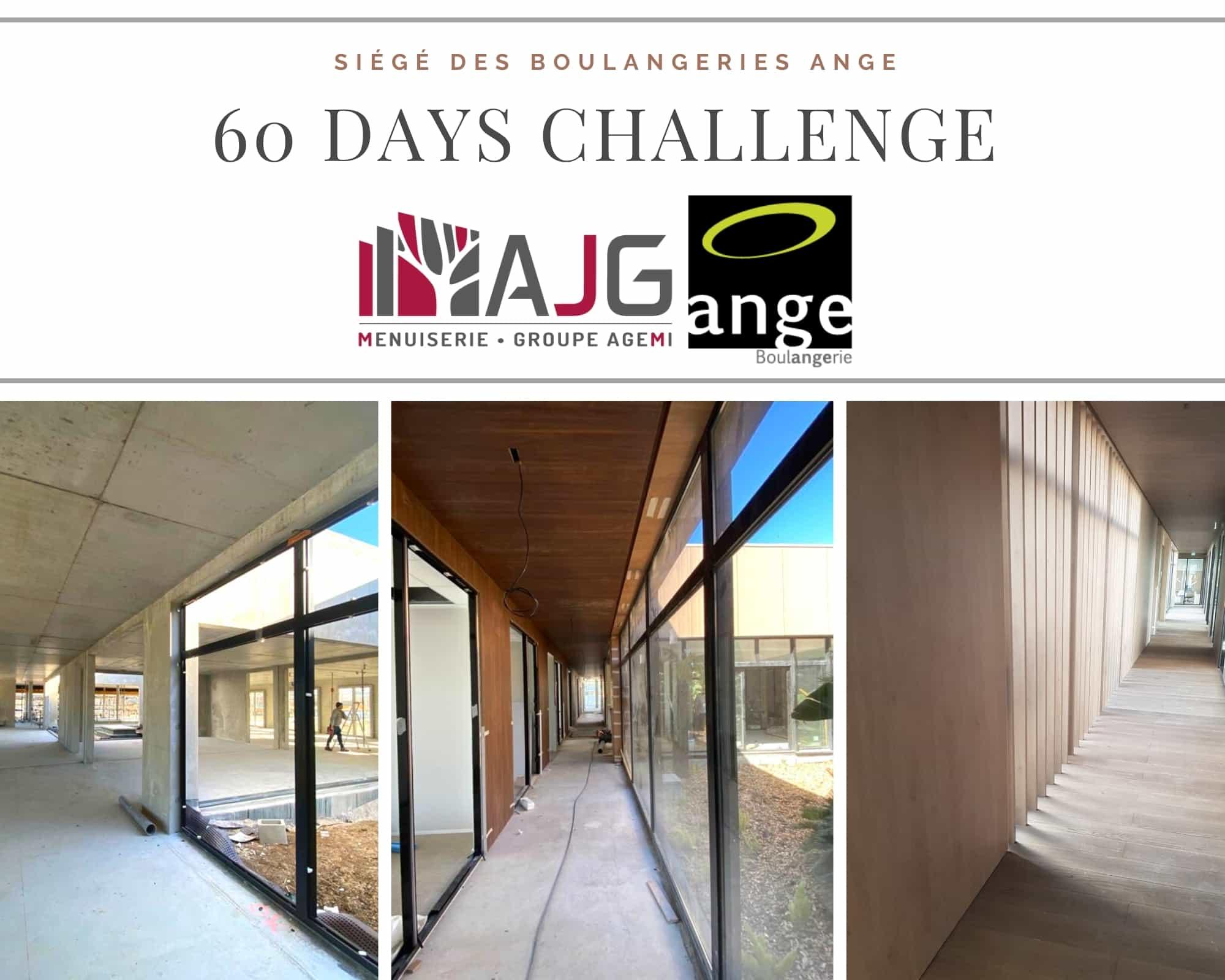 60 DAYS CHALLENGE ANGE AJG menuiserie